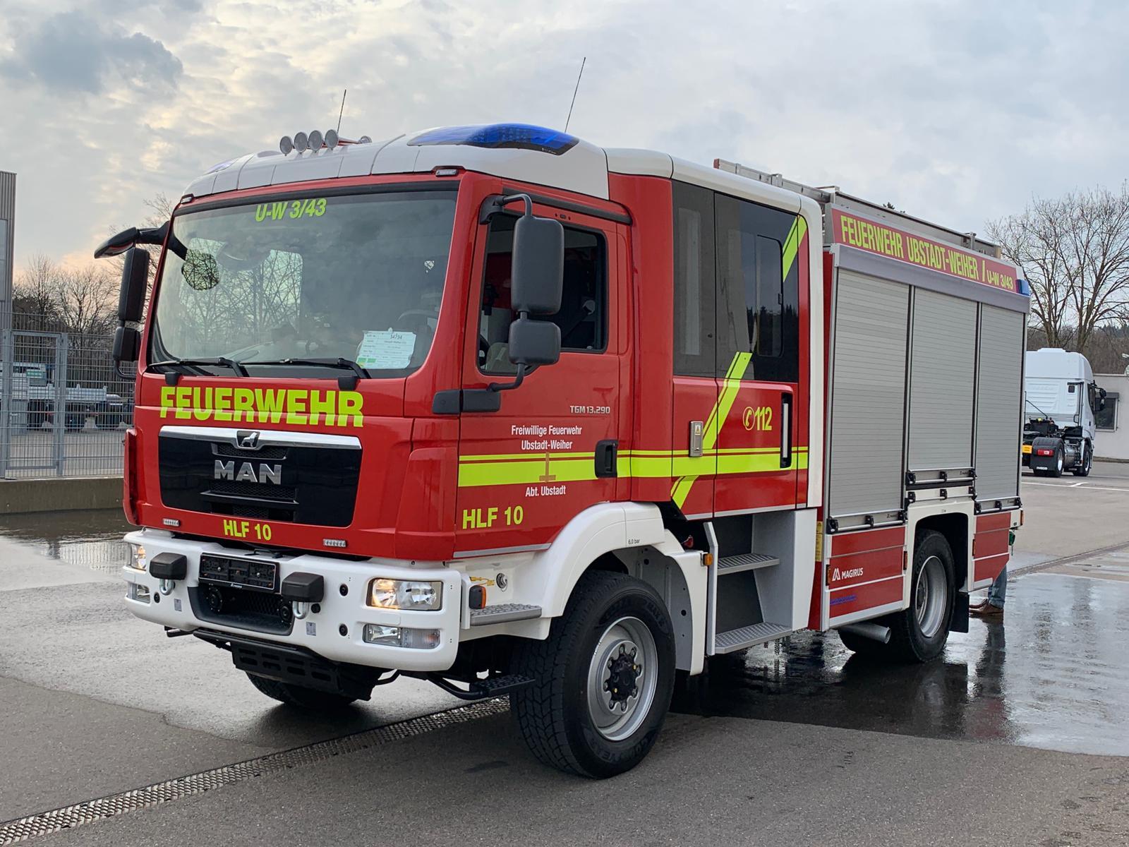 Feuerwehr Ubstadt Weiher